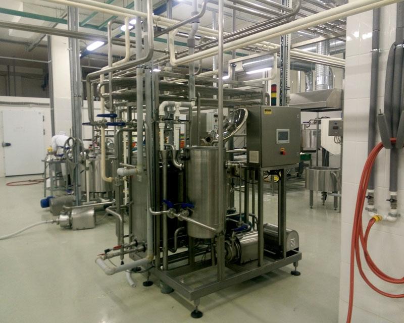 Комплекты оборудования для сырного завода