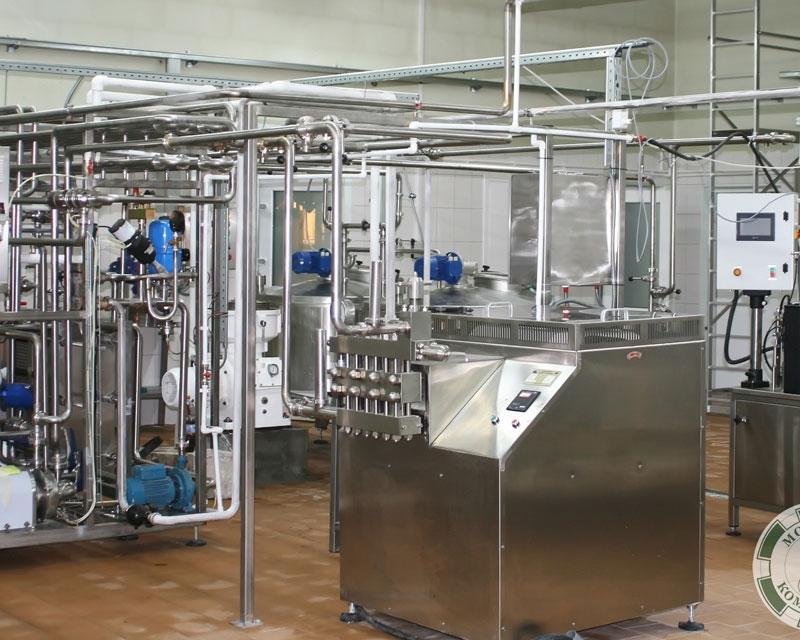 Комплект оборудования для молочного завода