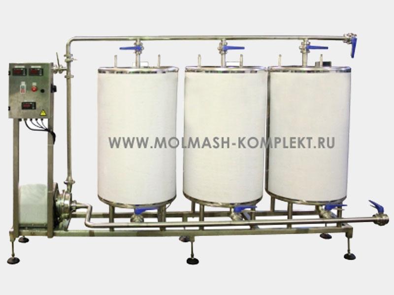 МОЛСИП-25 Станция наведения моющих растворов
