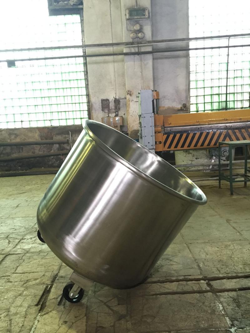 Передвижная емкость для сыроварни