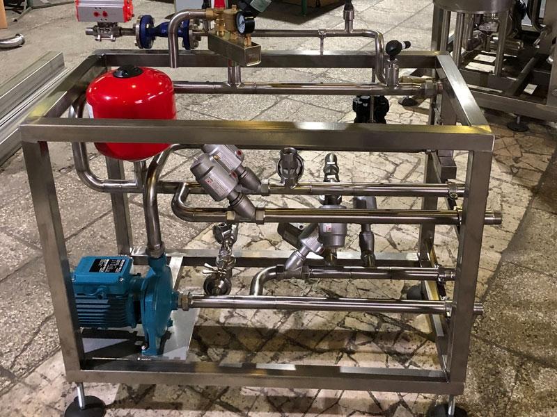 Блок подготовки горячей воды ГВС