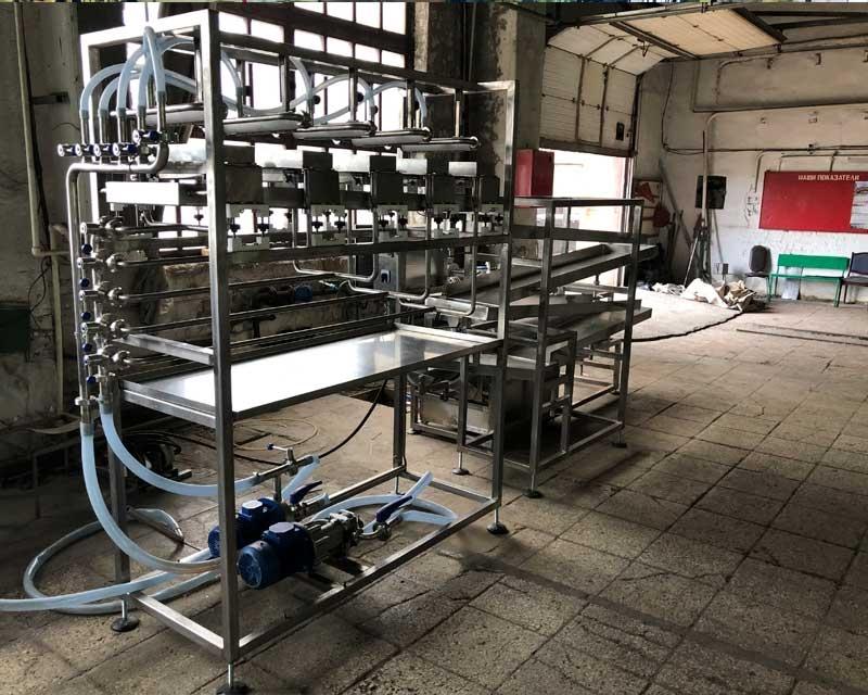 Установка для производства капсулированных продуктов